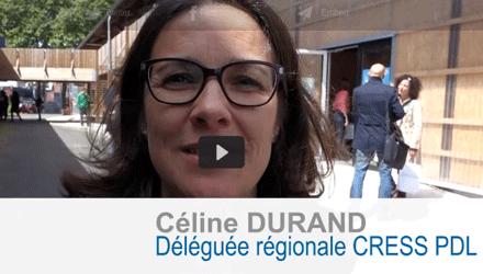 Celine Durand - Déléguée Régionale Cress PDL - Social Planet